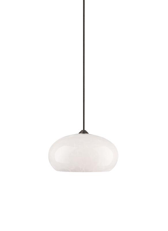 Tech Lighting 700FJMEWF FreeJack Meteor Frit White Dome Shaped Glass