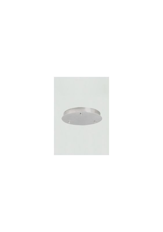 Tech Lighting 700FJR3277 FreeJack Round 3-Port Canopy with 277v In /