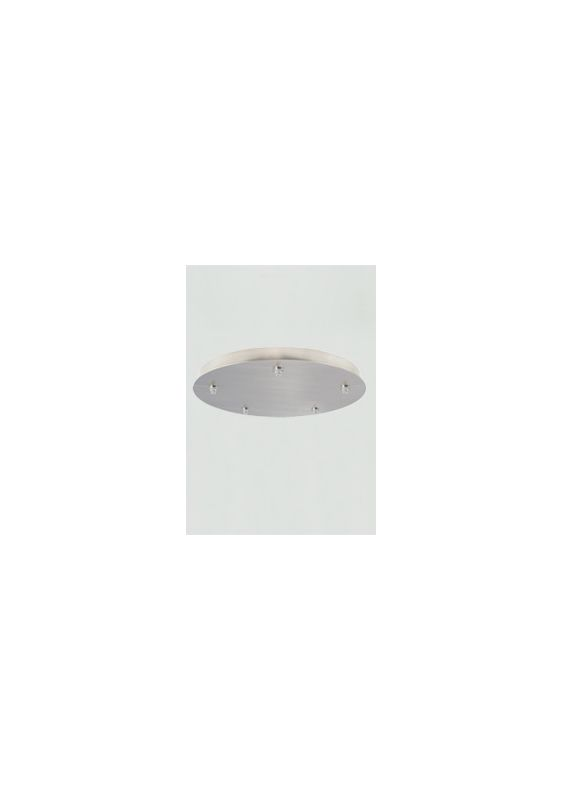 Tech Lighting 700FJR5277 FreeJack Round 5-Port Canopy with 277v In /