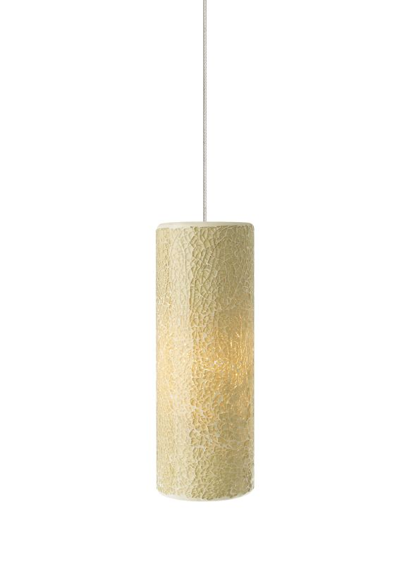 Tech Lighting 700FJVEIL FreeJack Veil Cylindrical Crushed Latte Glass