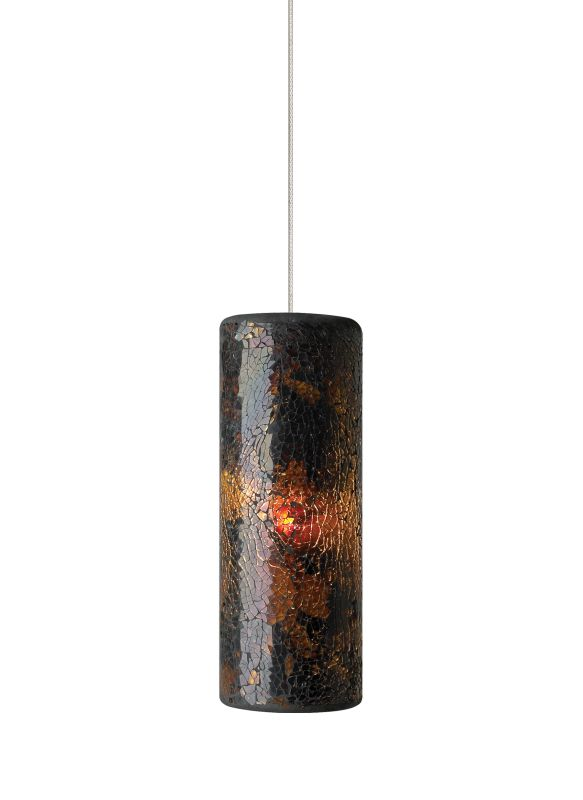Tech Lighting 700FJVEIN FreeJack Veil Cylindrical Crushed Brown Glass Sale $255.20 ITEM: bci2222175 ID#:700FJVEINZ UPC: 884655079518 :
