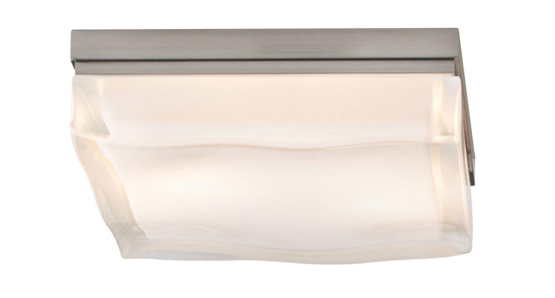 Tech Lighting 700FMFLDSS-LED Fluid Small 1 Light LED Square