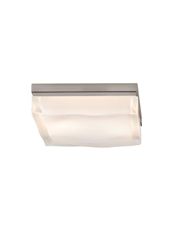 Tech Lighting 700FMFLDSS Fluid Small 1 Light Halogen Square