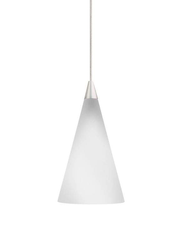 Tech Lighting 700KCONW Kable Lite White Glass Cone Pendant - 12v Sale $223.20 ITEM: bci826345 ID#:700KCONWC UPC: 756460578954 :
