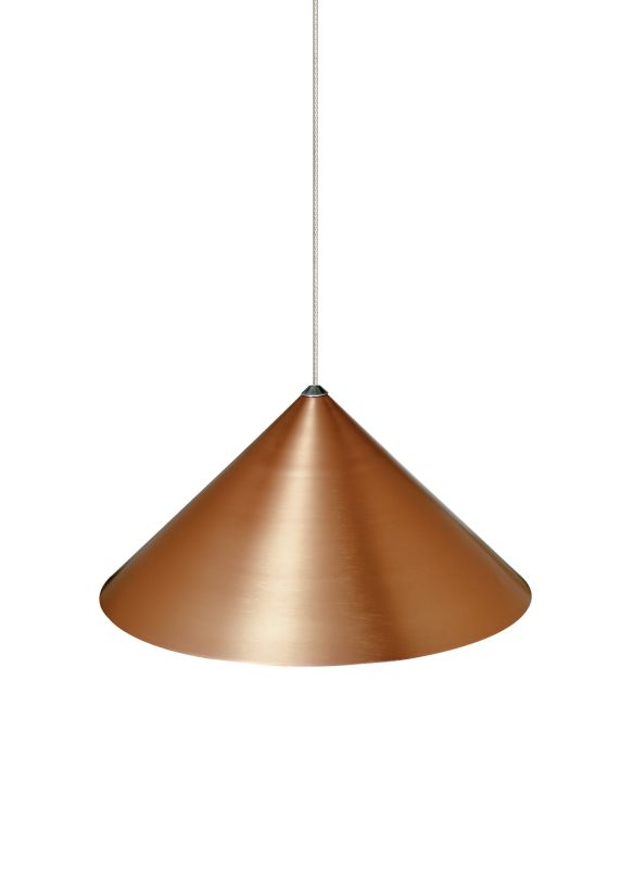 "Tech Lighting 700KSKY08CP Kable Lite Sky 8"" Copper Lightweight"