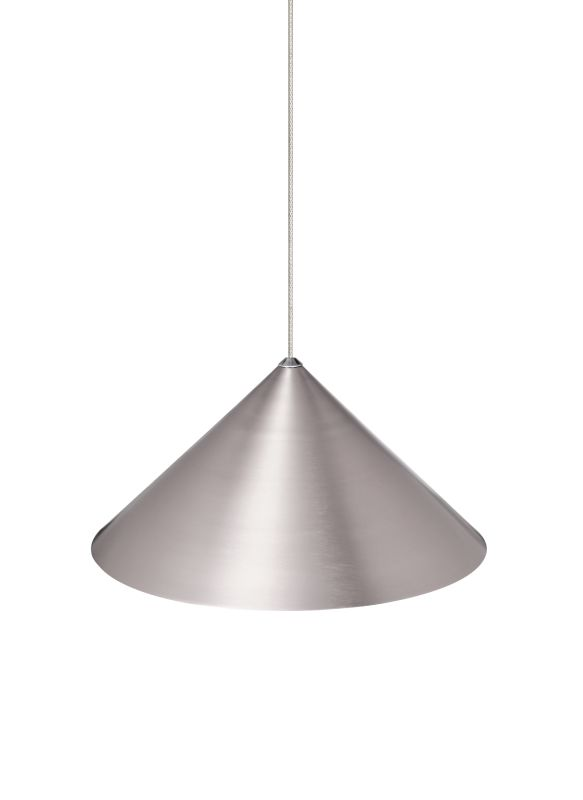 "Tech Lighting 700KSKY12SN Kable Lite Sky 12"" Satin Nickel Lightweight"