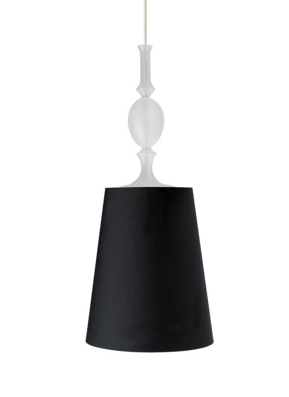 Tech Lighting 700MO2KIEBC Two-Circuit MonoRail Kiev Black Fabric Shade