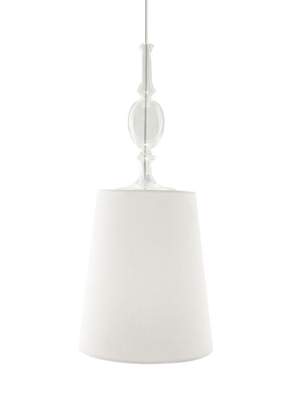 Tech Lighting 700MO2KIEWF Two-Circuit MonoRail Kiev White Fabric Shade