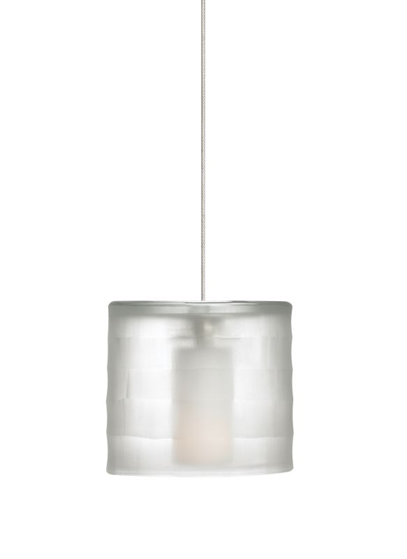 Tech Lighting 700MOBALC-LED MonoRail Bali Hand-Carved Blown-Glass