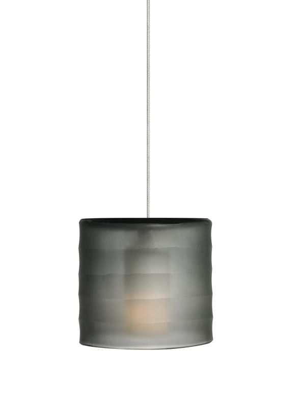 Tech Lighting 700MOBALK-LED MonoRail Bali Hand-Carved Blown-Glass