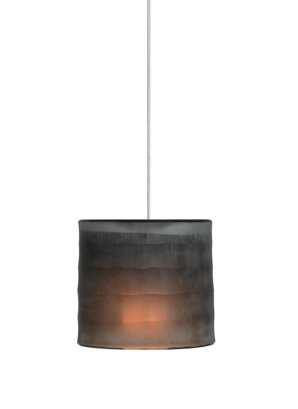 Tech Lighting 700MOBALN-LED MonoRail Bali Hand-Carved Blown-Glass Dark