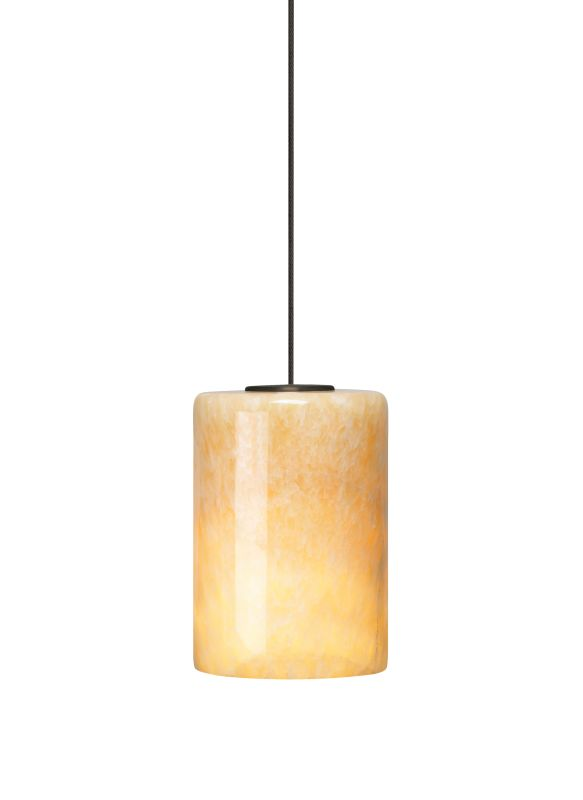 Tech Lighting 700MOCBO MonoRail Cabo Onyx Cylinder Pendant - 12v