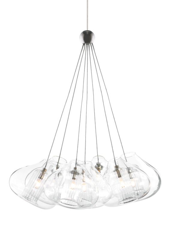 Tech Lighting 700MOCHR7 MonoRail Cheers Seven Fused Clear Glass Globes Sale $605.60 ITEM: bci829216 ID#:700MOCHR7Z UPC: 756460954017 :