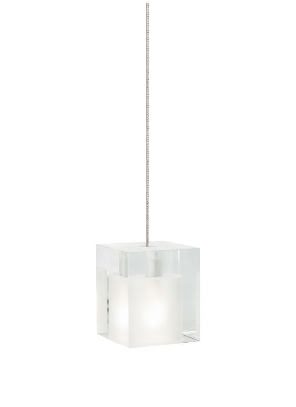 Tech Lighting 700MOCUBF MonoRail Frost Cube Glass Pendant - 12v Sale $198.40 ITEM: bci828267 ID#:700MOCUBFC UPC: 756460846145 :