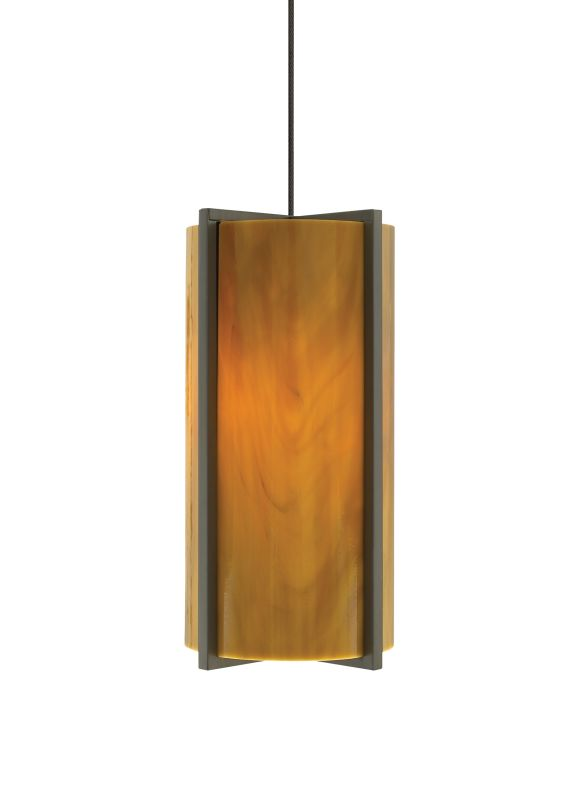 Tech Lighting 700MOESXA MonoRail Essex Beach Amber Slumped Glass