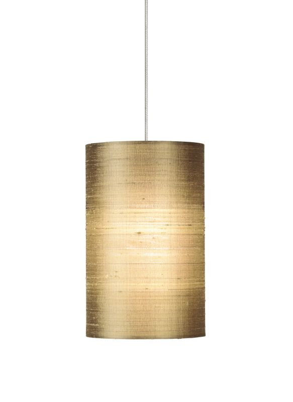 Tech Lighting 700MOFABA MonoRail Fab Almond Indian Silk Shade Pendant Sale $244.00 ITEM: bci828667 ID#:700MOFABAS UPC: 756460906719 :