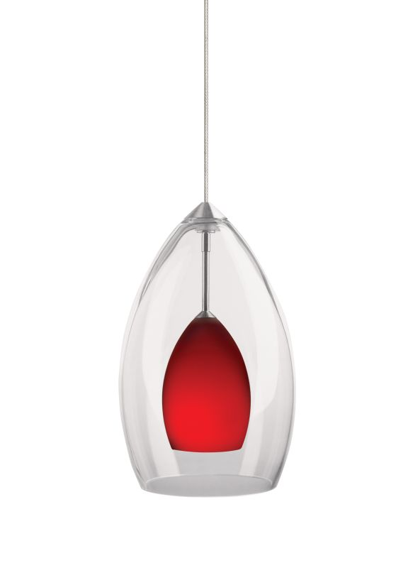 Tech Lighting 700MOFIRCR MonoRail Inner Fire Red Raindrop Glass Sale $317.60 ITEM: bci827667 ID#:700MOFIRCRS UPC: 756460625344 :