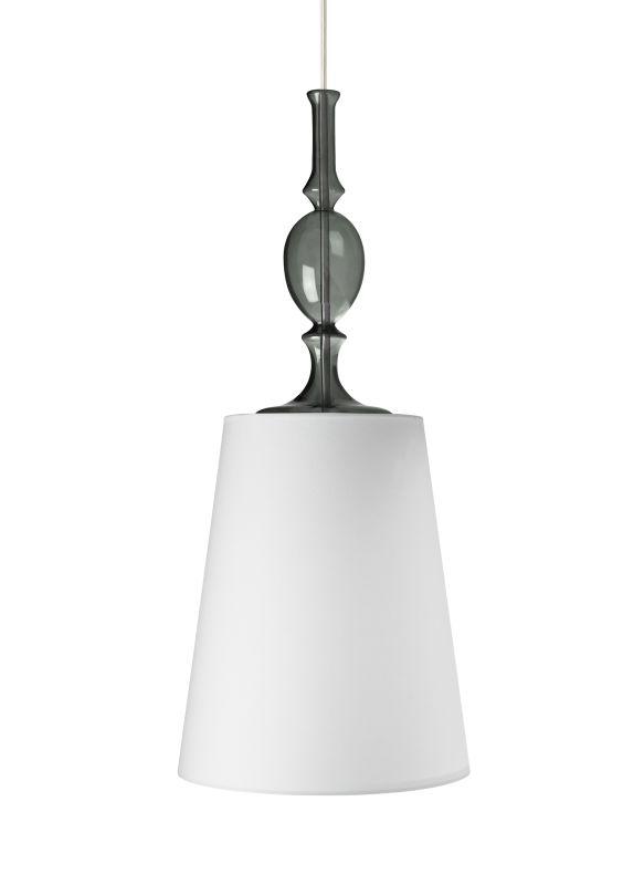 Tech Lighting 700MOKIEWK MonoRail Kiev White Fabric Shade Pendant with
