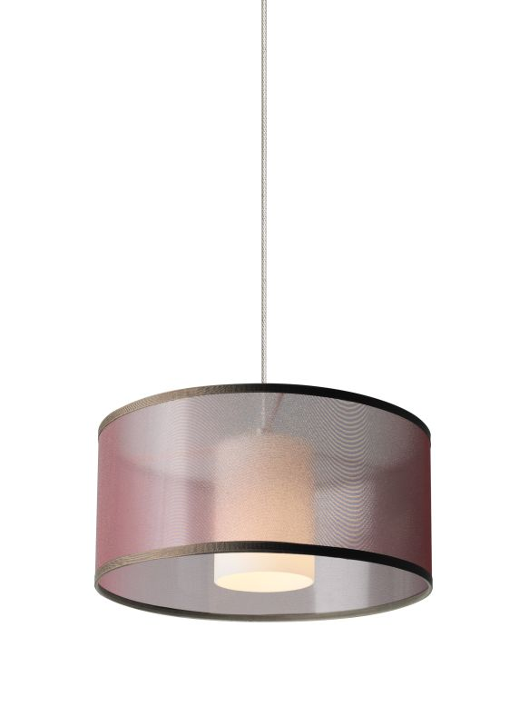 Tech Lighting 700MOMDLNWN MonoRail Mini Dillon Brown Translucent