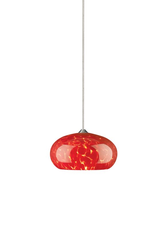 Tech Lighting 700MOMERF MonoRail Meteor Frit Red Dome Shaped Glass Sale $215.20 ITEM: bci827526 ID#:700MOMERFS UPC: 756460023102 :