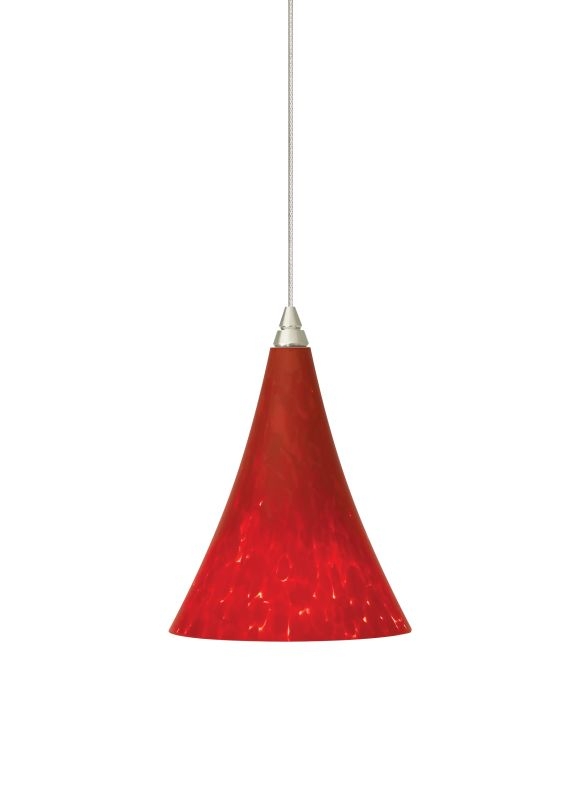 "Tech Lighting 700MOMMLR MonoRail Mini Melrose Ferrari Red Layered Sale $268.80 ITEM: bci827089 ID#:700MOMMLRC UPC: 756460905811 Features: Gracefully shaped glass shade, richly layered in brilliant frit, with machined top detail Includes low-voltage, 50 watt halogen bi-pin lamp or 6 watt replaceable LED module and six feet of field-cuttable suspension cable Shown in Satin Nickel finishLamping Technologies: Bulb Base - GY6.35 - A bi pin or ' bipin socket', the GY6.35 has a pin spread of 6.35 mm and is used mostly with halogen bulbs common for task lighting and landscape lighting. Compatible Bulb Types: GY6.35 Bulb Base uses primarily a Halogen but is also compatible as LED and Xenon / Krypton.Specifications: Number of Bulbs: 1 Bulb Base: GY6.35 Bulb Type: Halogen Bulb Included: Yes Watts Per Bulb: 50 Wattage: 50 Height: 6.7"" Width: 4.9"" Energy Star: No :"
