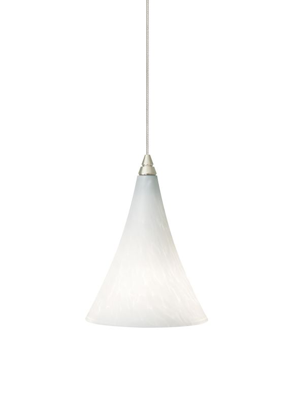 Tech Lighting 700MOMMLW MonoRail Mini Melrose White Frit Layered Glass