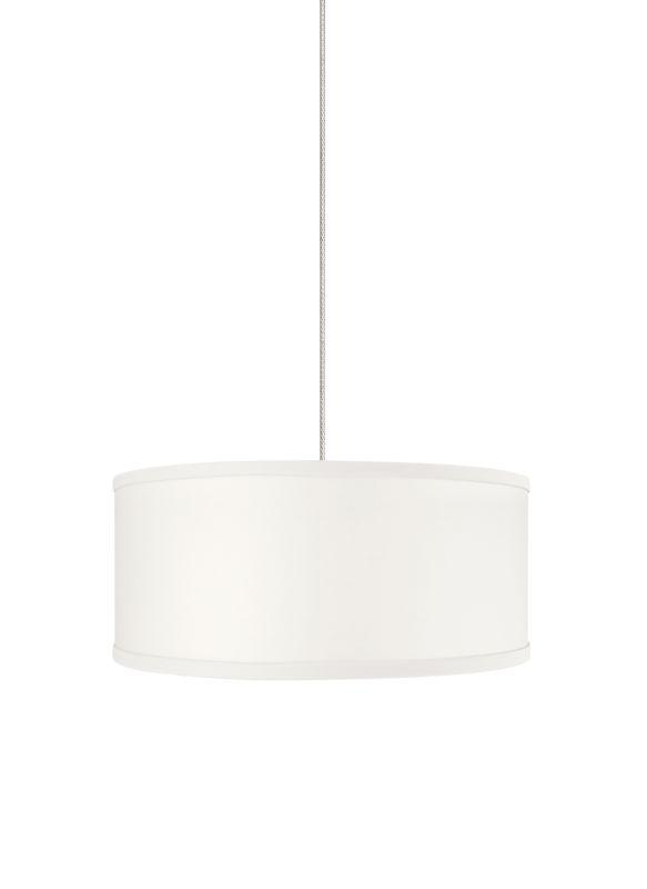 Tech Lighting 700MOMULW MonoRail Mini Mulberry White Round Fabric