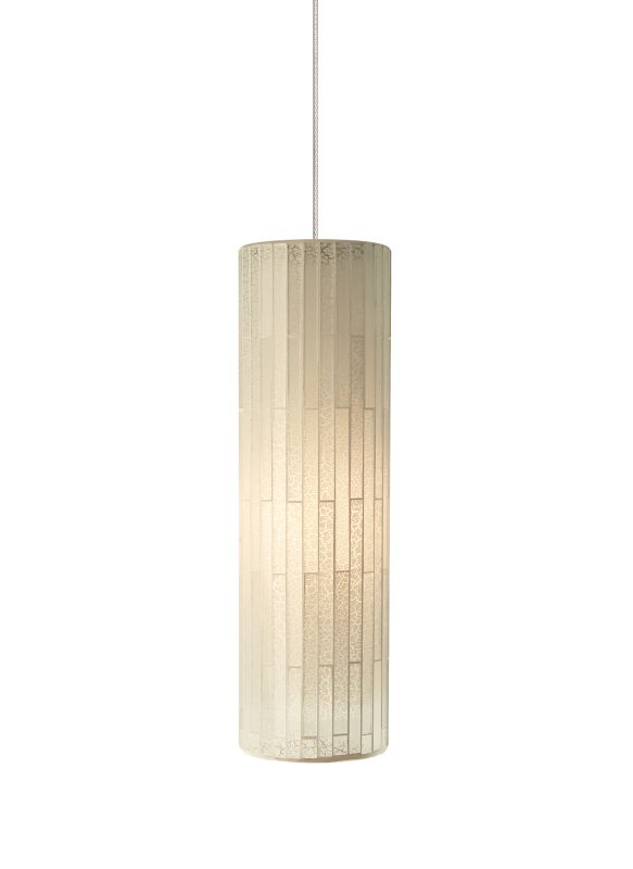 Tech Lighting 700MOPEYW MonoRail Peyton White Cylindrical Glass Mosaic Sale $268.00 ITEM: bci2262020 ID#:700MOPEYWZ UPC: 884655082693 :