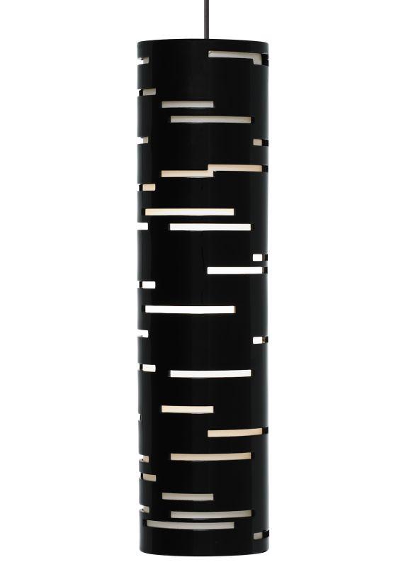 Tech Lighting 700MORVLB-LED MonoRail Revel 1 Light LED Gloss Black