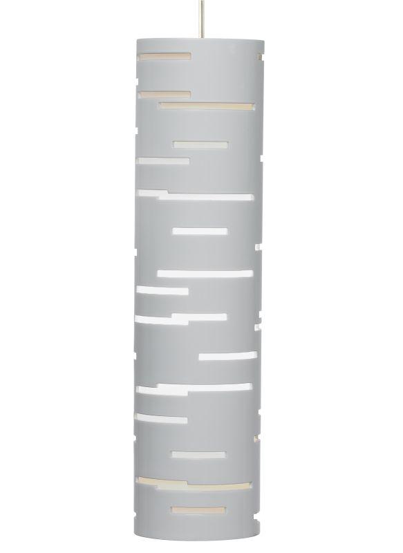 Tech Lighting 700MORVLW-LED MonoRail Revel 1 Light LED Gloss White