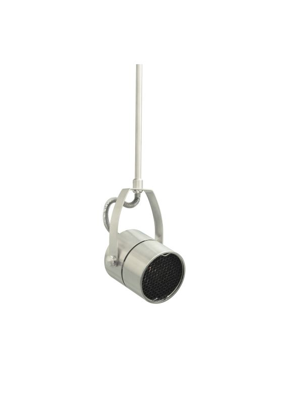 "Tech Lighting 700MOSPT612 MonoRail Spot Rotating Low-Voltage Head with Sale $124.00 ITEM: bci829624 ID#:700MOSPT612S UPC: 756460631277 Features: Classic head rotates 360° around stem, pivots 290° Can hold one lens or louver (sold separately) Low-voltage, MR16 lamp of up to 50 watts (not included) Shown in Satin Nickel finishLamping Technologies: Bulb Base - GY6.35 - A bi pin or ' bipin socket', the GY6.35 has a pin spread of 6.35 mm and is used mostly with halogen bulbs common for task lighting and landscape lighting. GY6.35 Bulb Base uses primarily a Halogen but is also compatible as LED and Xenon / Krypton.Specifications: Number of Bulbs: 1 Bulb Base: GY6.35 Bulb Included: No Watts Per Bulb: 50 Wattage: 50 Height: 12"" Width: 2.4"" Energy Star: No :"