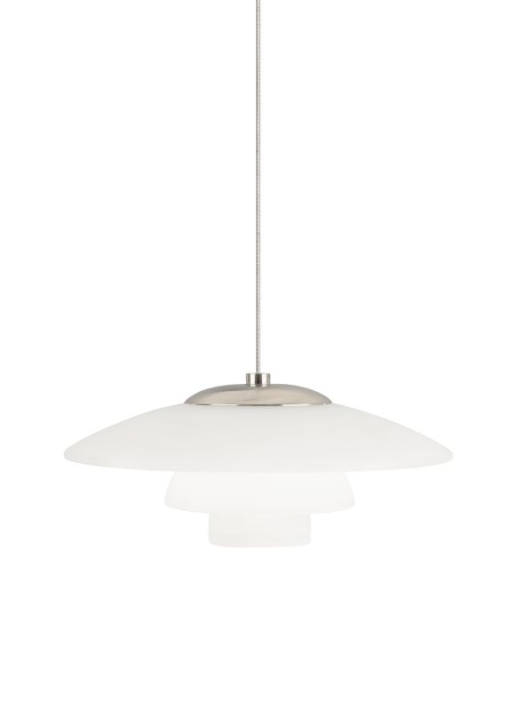 Tech Lighting 700MOSYDW MonoRail Sydney Three Concentric White Glass