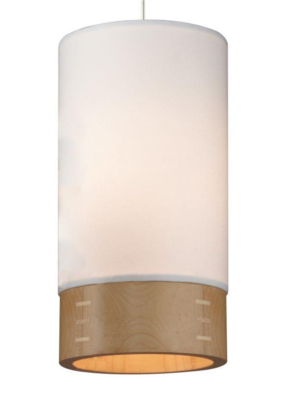 Tech Lighting 700MOTPOWM-LED MonoRail Topo 1 Light LED White Fabric /