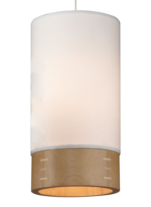 Tech Lighting 700MOTPOWW-LED MonoRail Topo 1 Light LED White Fabric /