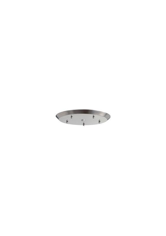 Tech Lighting 700TDCLP5R 5 Pendant Cluster Round Line Voltage Canopy