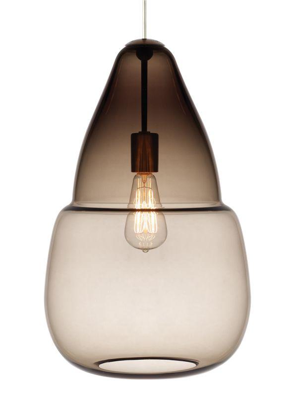 Tech Lighting 700TDCPSGPK-CF Caspian Grande 1 Light Fluorescent