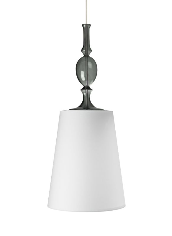 Tech Lighting 700TDKIELPWK-CF Kiev Large White Fabric Shade Line