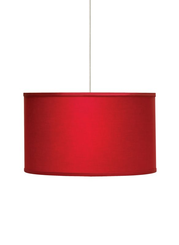 Tech Lighting 700TDLEXPR Lexington Large Drum Shaped Red Fabric Shade Sale $424.80 ITEM: bci2981397 ID#:700TDLEXPRW UPC: 756460385422 :