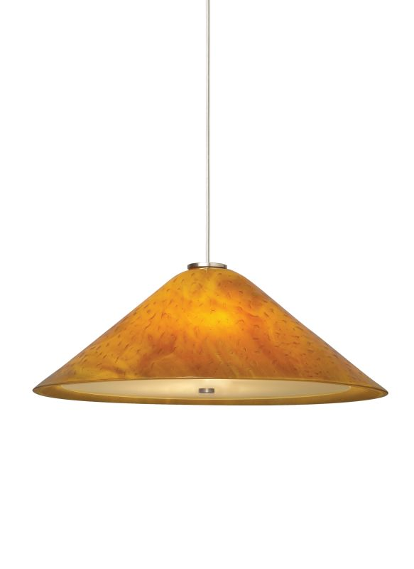 "Tech Lighting 700TDLRKPA-CF277 Larkspur Fused Beach Amber Glass Plate Sale $729.60 ITEM: bci2981459 ID#:700TDLRKPAB-CF277 UPC: 884655048750 Features: Fused and slumped plate glass shade, warm with color and pattern, highlighted with metal detail and suspended from a round canopy Glass disc diffuser provides a glare free wash of light Black, satin nickel and white finish options highlighted with satin nickel detail and clear cable; antique bronze highlighted with antique bronze detail and brown cable Includes 120 volt, 100 watt A19 medium base lamp or 18 watt GX24Q-2 base triple tube compact fluorescent lamp (electronic ballast included) Fixture is provided with six feet of field-cuttable cable Incandescent version dimmable with standard incandescent dimmer Shown in Satin Nickel finishLamping Technologies: Bulb Base - CFL Plug-in - This is a quad-pin base with two bi-pin pairs. These are used with compact fluorescent tubes that plug into a light fixture that has a permanent ballast.Specifications: Number of Bulbs: 1 Bulb Base: CFL Plug-in Bulb Type: Compact Fluorescent Bulb Included: Yes Watts Per Bulb: 18 Wattage: 18 Voltage: 277 Height: 7"" Width: 19"" Energy Star: No :"