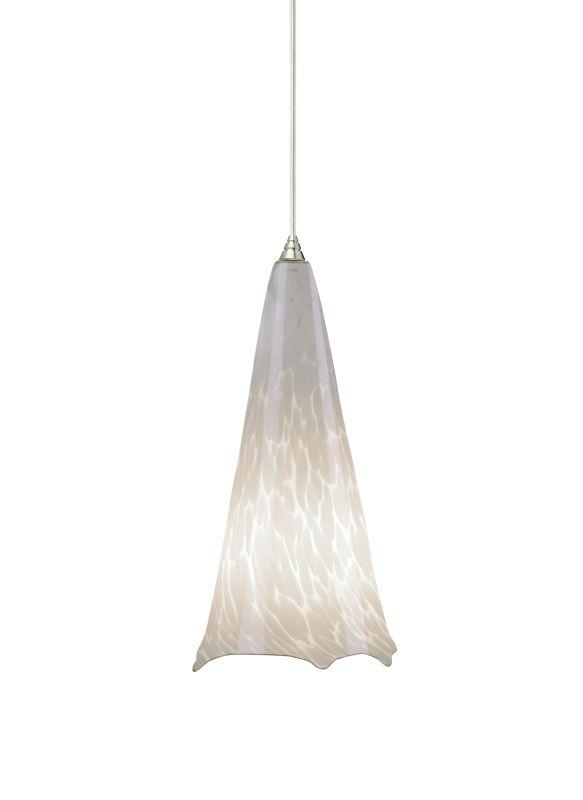 Tech Lighting 700TDOVPWNN-CF277 Ovation White Frit Hand Pulled Glass