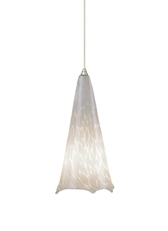 Tech Lighting 700TDOVPWRN Ovation White Frit Hand Pulled Glass Line