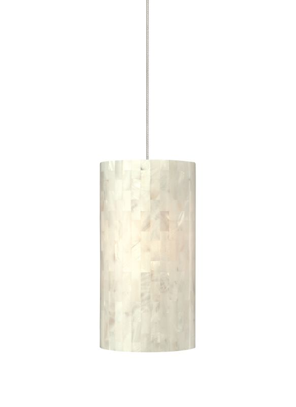 Tech Lighting 700TDPLAPW Playa White Natural Shell Panel Shade Line