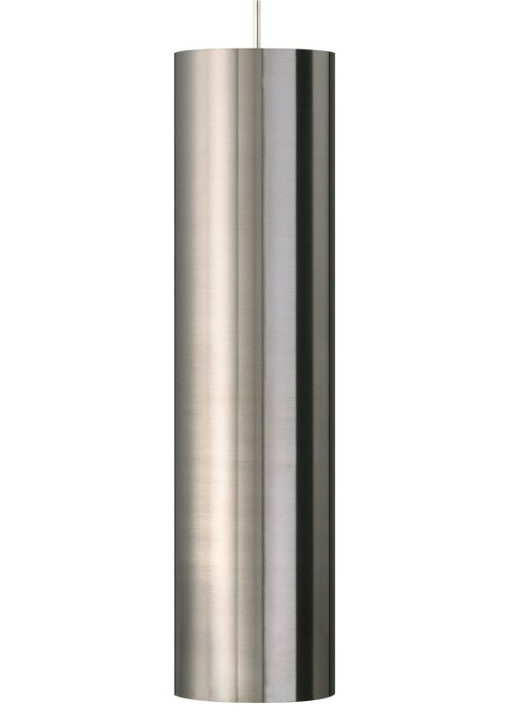 Tech Lighting 700TDPPRGPS Piper Grande Satin Nickel Cylindrical Metal