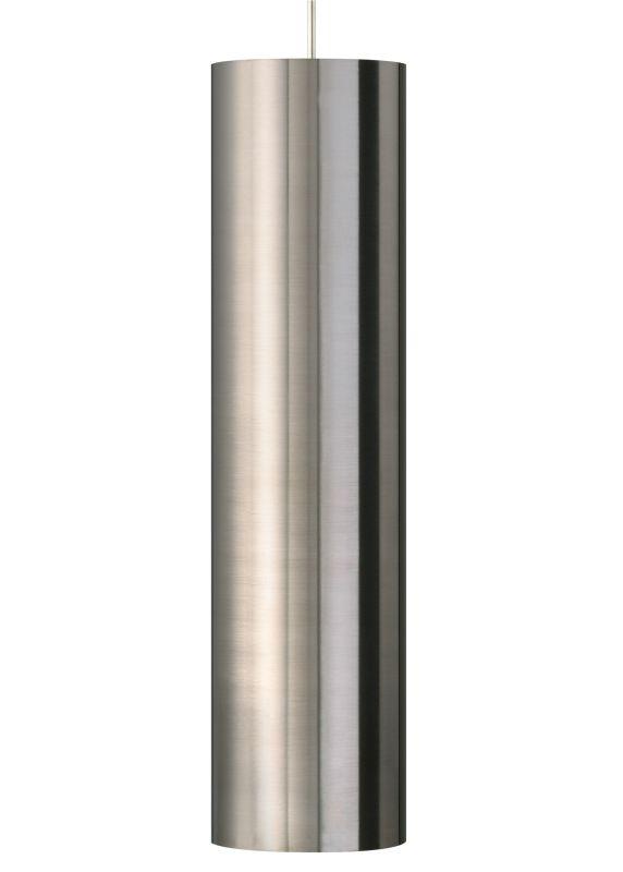 Tech Lighting 700TDPPRGPS-LED3 Piper Grande Satin Nickel Cylindrical