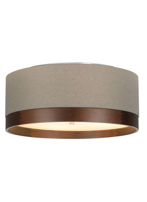 "Tech Lighting 700TPO36YW-CF Topo 4 Light Fluorescent 36"" Stem Heather"
