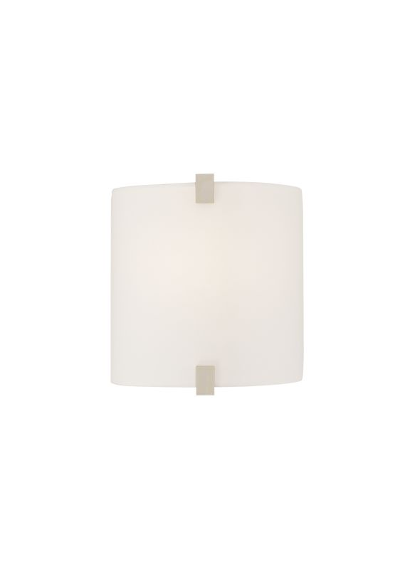 Tech Lighting 700WSESXFW Essex White Fabric Wall Washer Sconce Chrome
