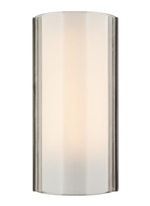 Tech Lighting 700WSJXNC Jaxon 1 Light Clear Glass Wall Sconce Satin