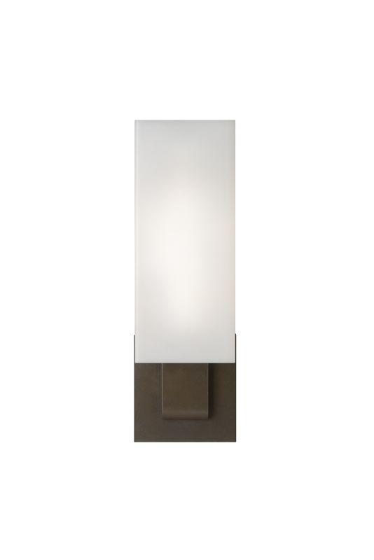 Tech Lighting 700WSKISWW-CF Kisdon Rectangular White Glass Fluorescent