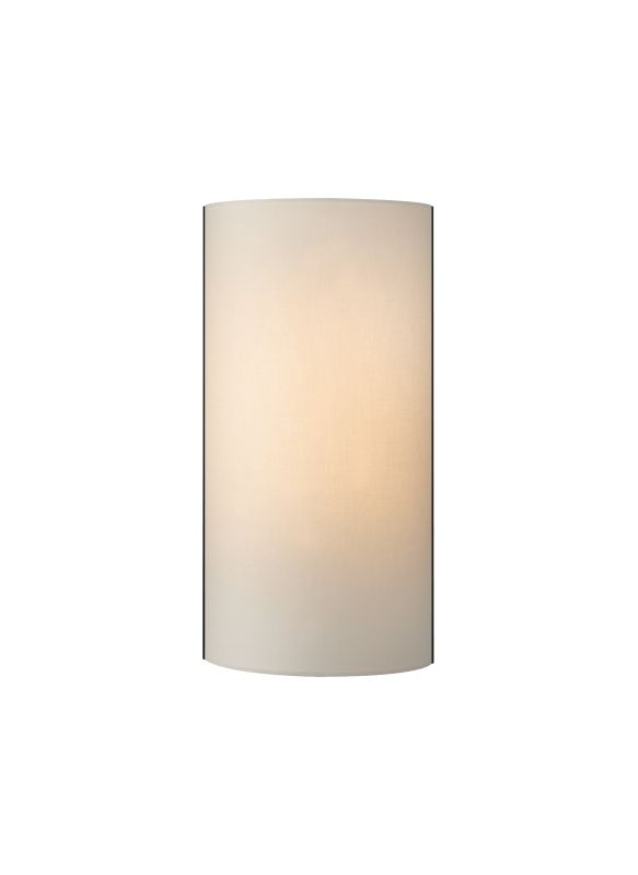 Tech Lighting 700WSLEXC-CF Lexington Half-Cylinder Desert Clay Fabric