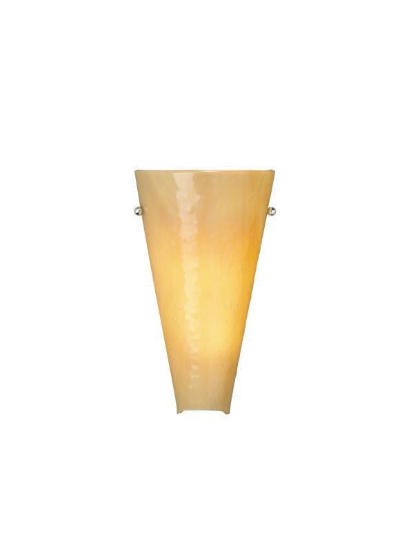 Tech Lighting 700WSLRKSS-CF Mini Larkspur Sand Cone Shaped Slumped